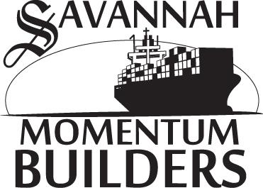 Savannah Momentum Builders - Logo Black & White