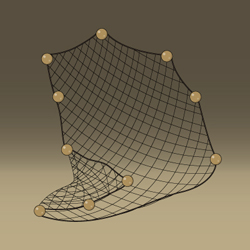 Medieval Game - Conceptual Artwork - Fishing Net Icon