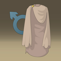 Medieval Game - Conceptual Artwork - Male Cloack Icon