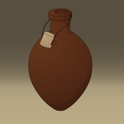 Medieval Game - Conceptual Artwork - Small Water Pouch Icon
