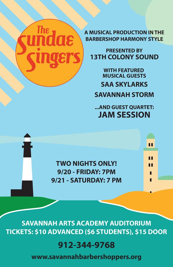 """""""The Sundae Singers"""" - Poster Design"""